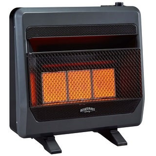 Bluegrass Living Natural Gas Vent Free Infrared Gas Space Heater With Blower And Base Feet 30 000 Btu Model B30tnir Bb Overstock 31767924
