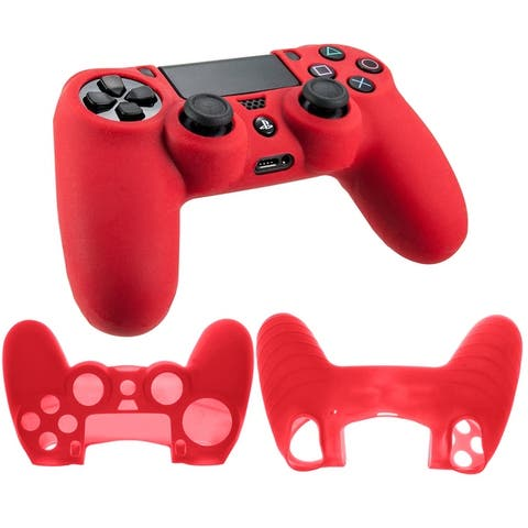 Silicone Rubber Soft Case Cover for SONY PlayStation 4 PS4 Controller