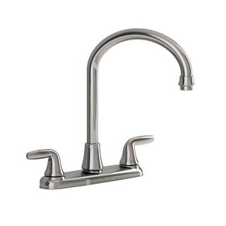American Standard 9316451.002 Kitchen Faucet With Side Spray Two Handle, Chrome
