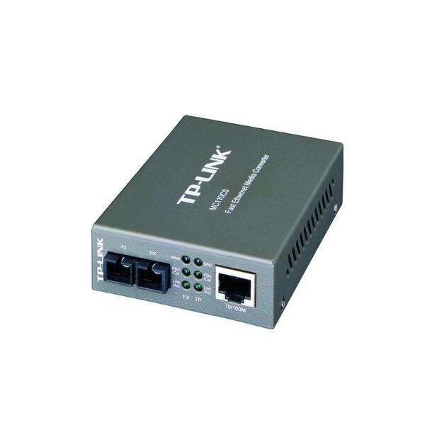 Tp-Link Usa Corporation - 10/100Mbps Single-Mode Media Converter