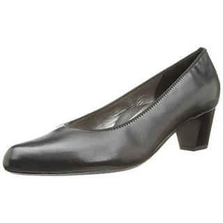 ARA Womens Kelly Leather Pointy Toe Pumps - 5.5 medium (b,m)