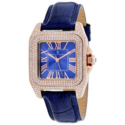 Christian Van Sant Women's Radieuse Blue Dial Watch - CV4427 - One Size