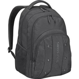 SwissGear Upload Backpack - Black Laptop Backpack