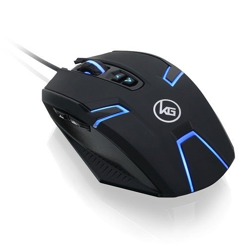 Iogear Kaliber Gaming Symmetre Ambidextrous Gaming Mouse, Gme630