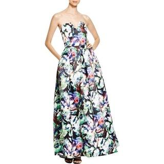 Parker Womens Formal Dress Printed Sweatheart