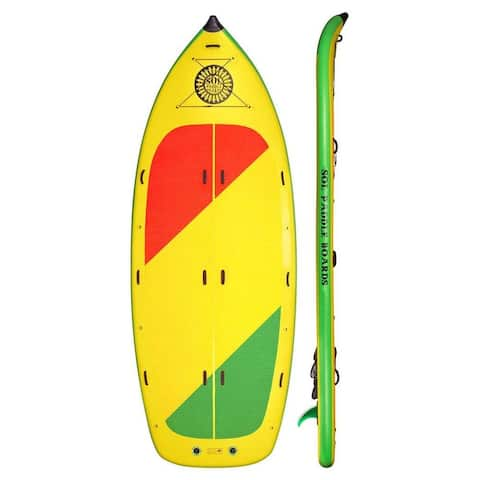 """SOL Paddle Boards SOLfiesta SUP 15' 6"""" Inflatable 6 Person SUP up to 900 lbs"""