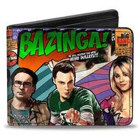 The Big Bang Theory Comic Book Bi Fold Wallet - One Size Fits most