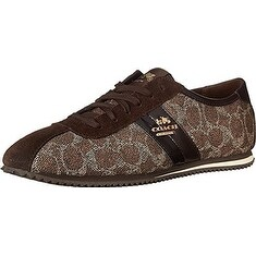 Coach Womens Ivy Low Top Lace Up Fashion Sneakers