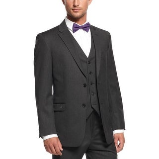 Tommy Hilfiger Adams Trim Fitting Charcoal Wool Sportcoat Blazer 41 Regular 41R