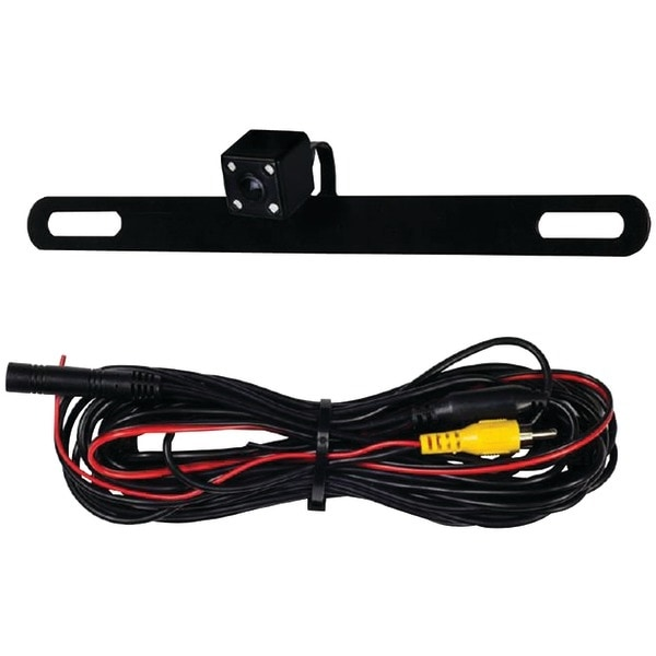 Ibeam Te-Bpcir Behind License Plate Camera With Ir Leds