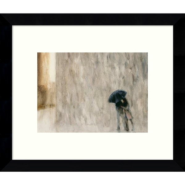 Framed Art Print 'Sharing' by Max Moran 11 x 9-inch. Opens flyout.