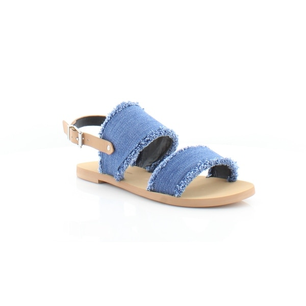 Rebecca Minkoff Emery Women's Sandals & Flip Flops Light Blue - 7