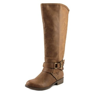 Madden Girl Corporel Women  Round Toe Synthetic Brown Knee High Boot