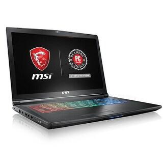 """MSI GP72X Leopard 17.3"""" FHD, Core i7-7700HQ GTX1050 128GB SSD + 1TB HD Laptop"""