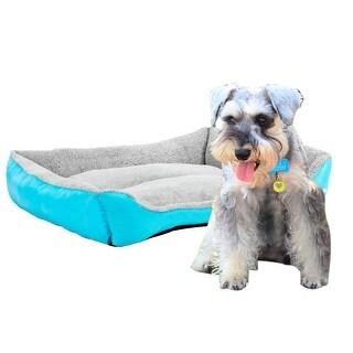 "30"" Pet Dog Cat Bed Pet Warm House Mat Blue - 30"""