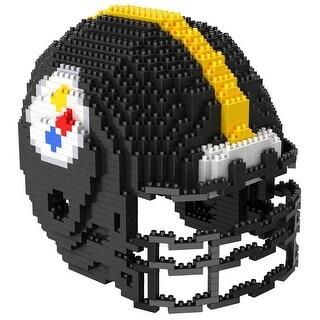 Pittsburgh Steelers 3D NFL BRXLZ Premade Bricks Puzzle Team Helmet