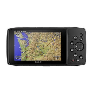 Garmin GPSMAP 276Cx Automotive Bundle All-terrain GPS Navigator w/ GPS &GLONASS Satellite Reception