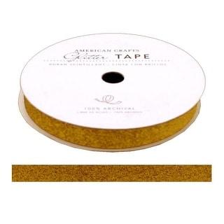 """AMC Glitter Tape 3/8"""" Sunflower"""