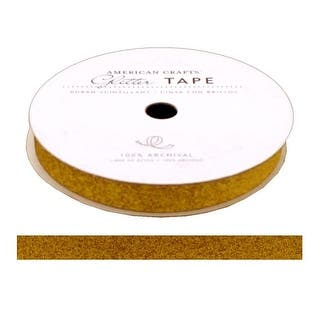 "AMC Glitter Tape 3/8"" Sunflower