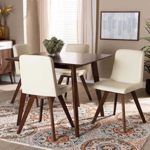 Carson Carrington Alberni Modern Upholstered 5-piece Dining Set