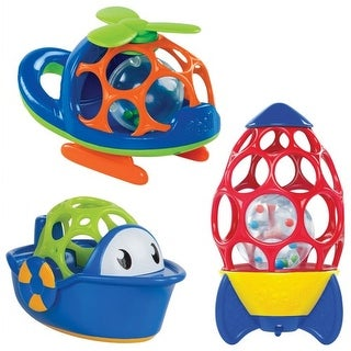 Oball(TM) Copter, Boat, & Rocket Set