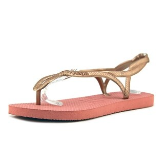 Havaianas Luna   Open-Toe Synthetic  Slingback Sandal