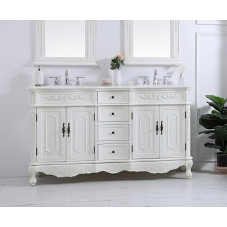 Link to Victorian Style Bathroom Vanity Cabinet Set with Marble top Similar Items in Faucets