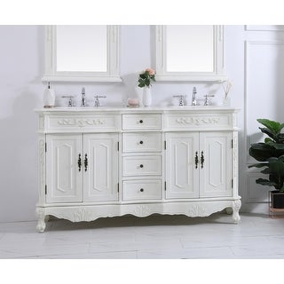 Link to Victorian Style Bathroom Vanity Cabinet Set with Marble top Similar Items in Bathroom Vanities