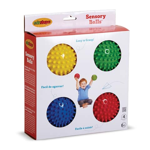 Sensory Ball 4In - Set Of 4