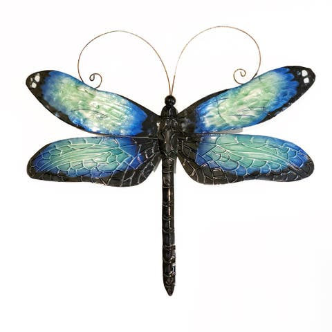 Handmade Dragonfly Blue And Black