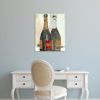 Easy Art Prints Samuel Dixon's 'After the Bubbly I' Premium Canvas Art