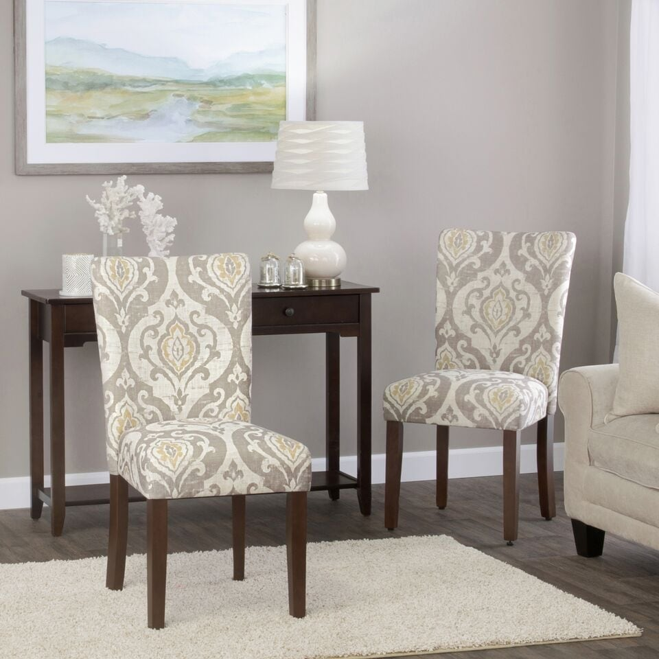 HomePop Classic Parsons Dining Chair - Suri Brown (Set of 2). Opens flyout.
