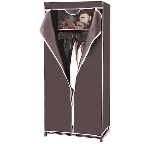 Costway Portable Clothes Closet Non-woven Fabric Wardrobe Storage