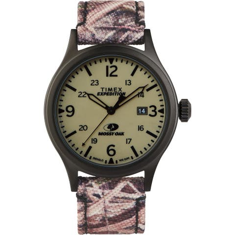 Timex x Mossy Oak TW2T94700 Expedition Scout 40mm Watch