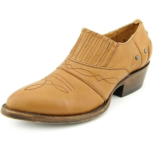 Matisse Roscoe Women Round Toe Leather Brown Bootie