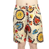 Unique Bargains Men Beach Shorts Pockets Board Surfing Running Swimming Swim Trunks Colorful W30