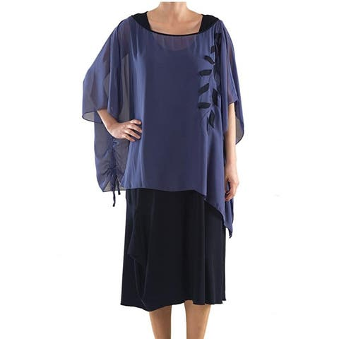 Separable Dress - Plus Size Clothing - La Mouette Collection