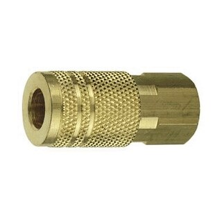 """Forney 75317 Female Air Fitting Coupler, 1/4"""" x 1/4"""""""
