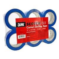 3M Scotch 311 Carton Sealing Tape - Blue