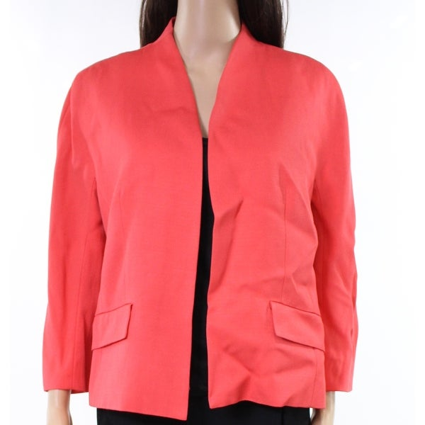 Classiques Entier Womens Seamed Open Front Jacket $279