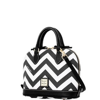 Dooney & Bourke Chevron Bitsy Bag (Introduced by Dooney & Bourke at $178 in Jan 2016) - Black