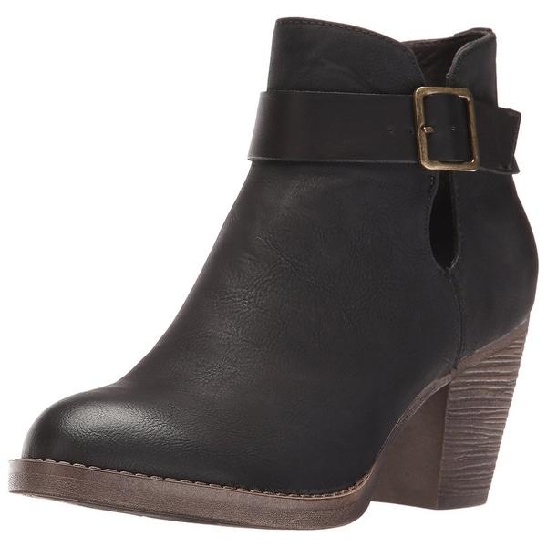BC Footwear Women's Cuddle Ankle Bootie
