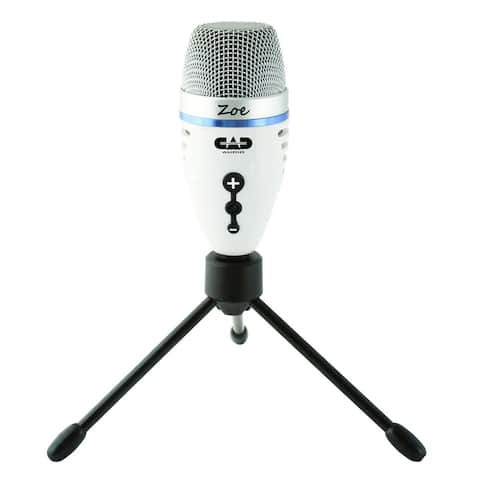 CAD Audio ZOE USB Condenser Microphone with TrakMix Headphone Output