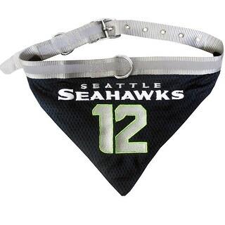 NFL Seahawks No.12 Pet Collar Bandana For Pets