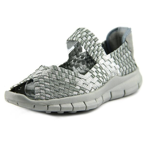 Bernie Mev. Comfi Women Silver Grey Flats