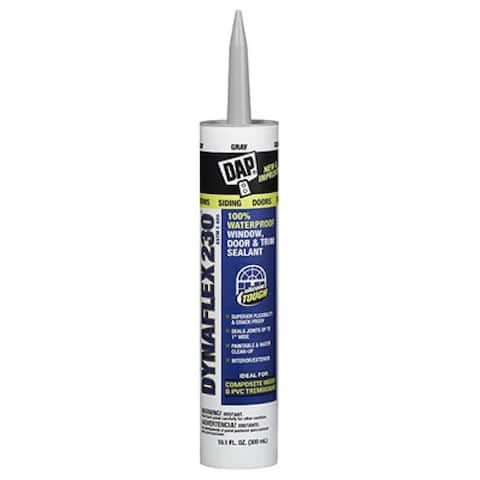 Dap 18275 Dynaflex 230 Premium Elastomeric Latex Sealant, 10.1 Oz, White