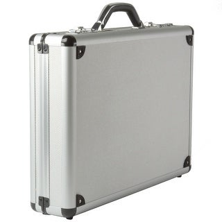 Link to Alpine Swiss Aluminum Attache Case Padded Laptop Briefcase Combo Lock Hard Sided - Silver - One Size Similar Items in Briefcases