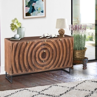 Link to Chic Teak Mountainside Mango Wood Buffet Similar Items in Dressers & Chests