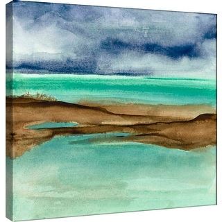 "PTM Images 9-100977  PTM Canvas Collection 12"" x 12"" - ""Shore V"" Giclee Coastlines Art Print on Canvas"