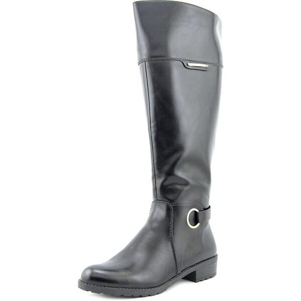 Alfani Jadah Wide Calf Women Black Boots
